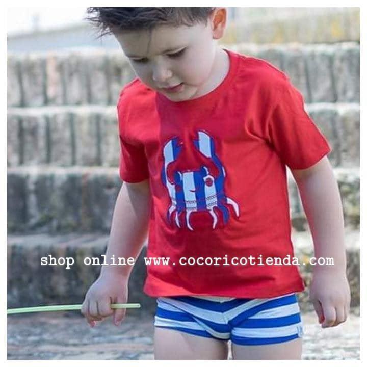 Y Pala La Boxer Niño Conjunto Albufeira Camiseta Bañadores JF3TlKc1